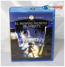 The Secret World of Arriety Ghibli - El Mundo Secreto de Arriety Blu-Ray LATINO