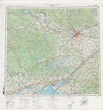 Russian Soviet Military Topographic Maps - OTTAWA (Canada), 1:500 000, ed. 1982