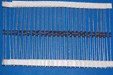 50 2.4K 2.49K ohm 1/4W Watt 1% Corning C4 metal film resistors