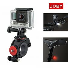Joby Handlebar Mount for GoPro and Action Cameras with Bike Lights Set GENUINE!!