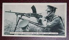 British Army  Bren Machine Gun Training   Vintage Photo Card   VGC