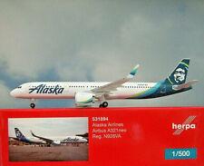 Herpa Wings 1:500 Airbus A321neo Alaska Airline N928VA 531894 Modellairport500