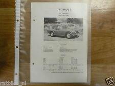 TR8-TRIUMPH TYPE TR4 EN TR4A 1962-1967-INFO