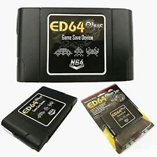 Ed64 Plus Game Save Device 8gb SD Card Adapter for N64 Game Pal/ntsc Multicay3l6