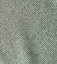 CLARENCE HOUSE Heather seafoam green woven wool plain 8+ yards new