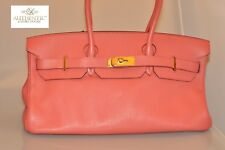 Authentic Hermes Togo Birkin 40 Half Rose Jaipur