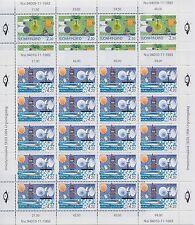 """1994 Europe Finlande 2 Mini-feuilles """"Europe et le Découvertes"""" MNH"""