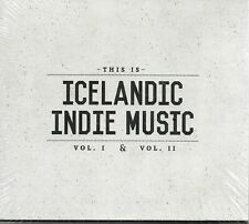 This Is Icelandic Indie Music Vol. I & Vol. II (CD, 2-Discs)Brand New! ShipsFREE