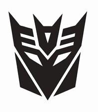 Transformers Decepticons Vinyl Die Cut Car Decal Sticker - FREE SHIPPING
