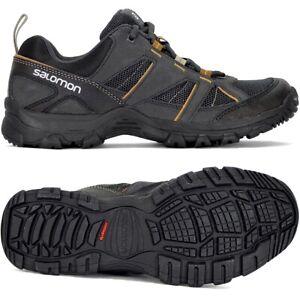 Salomon Cruise II Herren Outdoor Schuhe Wanderschuh Laufschuh Shoe schwarz/braun