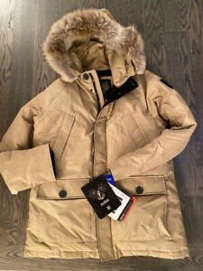 Nobis  Herritage Down  Parka  Jacket  lim ed made in  Canada size M  MSRP995$