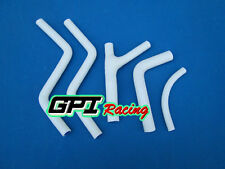 FOR Honda CR250 CR 250 1985 1986 1987 85 86 Radiator silicone hose,WHITE