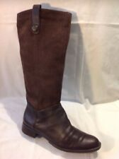 Bandolino Brown Knee High Leather Boots Size 8.5M (U.K. Size 6.5)