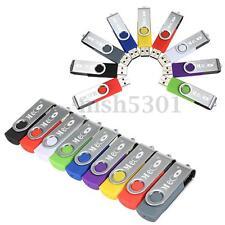 10pcs 2GB 2G USB2.0 Flash Memory Drive Thumb Storage Pen Stick U Disk