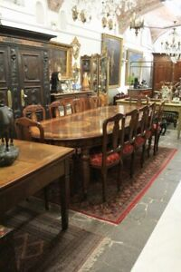 Important Table IN Briar Walnut, Decorations Inlaid, Dating Beginning '900