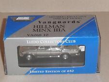 Vanguards Collectors Club. VA06810 HILLMAN MINX 111A ,( CHROME ) LCC8 OPENED