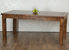 Valencia Dining Table Solid Dark Sheesham 1.75M Rosewood, RRP £349!!
