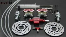 1/5 RC  hpi baja 5b  new second generation red metal front wheel hydraulic brake