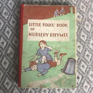 1920's Little Folks' Book Of Nursery Rhymes (Frederick Warne & Co Ltd)