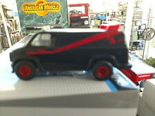 Mr T A team Chevy van roll back friction toy