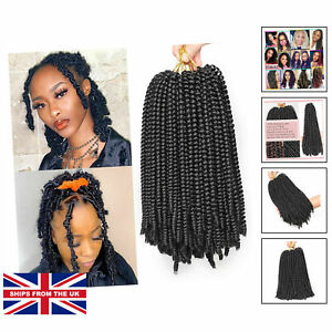 12 Inch Spring Twist Crochet Hair For Butterfly Locs O.... [12INCH (PACKS OF 2)]