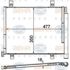 ORIGINAL HELLA Klimaanlage Kondensator Tiefe 16 mm 8FC351319-601