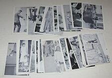 cr 1962 John F Kennedy Trading Card Lot of 24 Cards by Rosan Printing NY