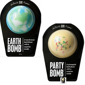 Da Bomb Bath Fizzers Party and Earth Bomb With A Surprise - 3.5oz