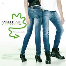 Hommes Jeans ANGEL DEVIL TOUCH IT ITALIE DENIM TAILLE UK 30 R (taille moyenne) RRP £ 88