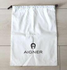Großer Aigner Staubbeutel Dustbag Staubschutz Tasche Herren Damen Neu