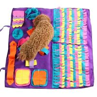New Pet Dog Snuffle Food Decompression Nose Training Blanket Education Toy Mat