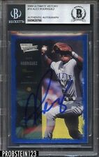 2000 Ultimate Victory #18 Alex Rodriguez Seattle Mariners Signed AUTO BGS BAS
