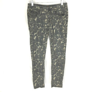 ROCK REVIVAL Camouflage Skinny Fit Khaki Green Jeans Size 28