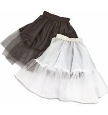 Kinder Fifties Petticoat Tüll Unterrock 50er 60er Jahre Retro Kostüm Farbwahl