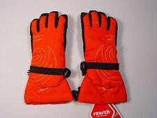 New Reusch Ski Gloves Zaira Rtex XT Junior Small (5)  #2964200 Fire Red & Black