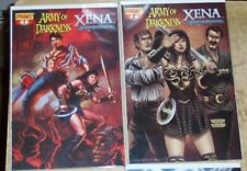 Xena Warrior Princess Army Of Darkness Evil Dead Horror Comic 4 Issue Lot