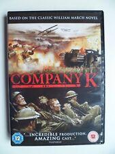 Company K (DVD, 2010) Terry Serpico, Ari Fliakos, Steve Cuiffo