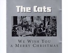 CD THE CATS we wish you a merry christmas 2002 EX