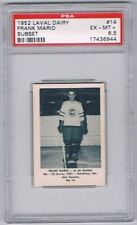 1952 Laval Dairy Subset Hockey Card Quebec Aces #14 Frank Mario Graded PSA 6.5