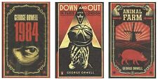 Collection of 3 George Orwell Books (New)