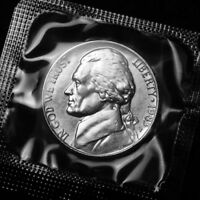 1983 P Jefferson Nickel Uncirculated from Souvenir Mint Set in Mint Cellophane