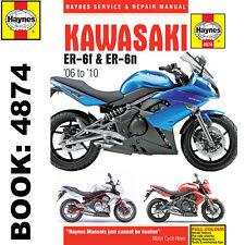 Kawasaki ER6-F ER6-N 2006-10 Haynes Workshop Manual