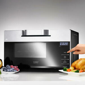 Caso IMCG 25 black combi Microwave with grill and hot air,free ship Worldwide
