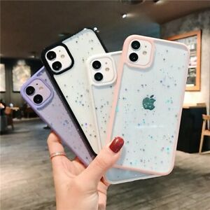 Case for iPhone 12 11 Pro Max Mini 7 8 SE XR X XS Clear Shockproof Phone Cover
