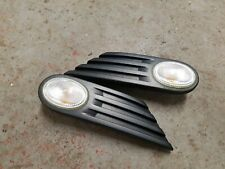 BMW MINI - R55 R56 R57 - PAIR OF CLEAR SIDE INDICATOR REPEATER SCUTTLE TRIMS