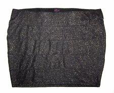 TORRID NWT Black GOLD Slim Mini SKIRT Womens PLUS 4 4X 26 28 Sexy Sparkle NEW