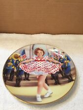 Shirley Temple Stand Up And Cheer Collector Plate