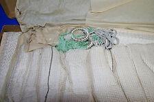 Anitk Gardine 10 m Stores Quasten Art Déco Jugendstil u 1900 Shabby curtains  2