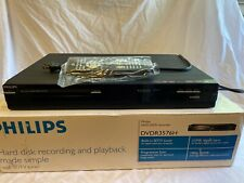 Philips DVD Recorder Player w/ Remote 160Gb Hard Disk Built In Tuner - DVDR3576H
