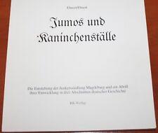 Jumos und Kaninchenställe Junkerssiedlung Magdeburg Nordwest Texas Junkers rar!